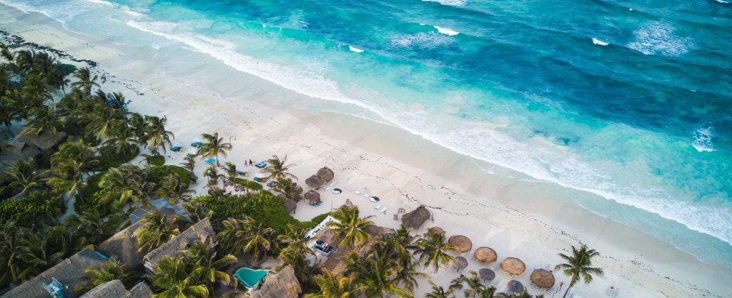 Playas paradisiacas en Tulum, Yucatán
